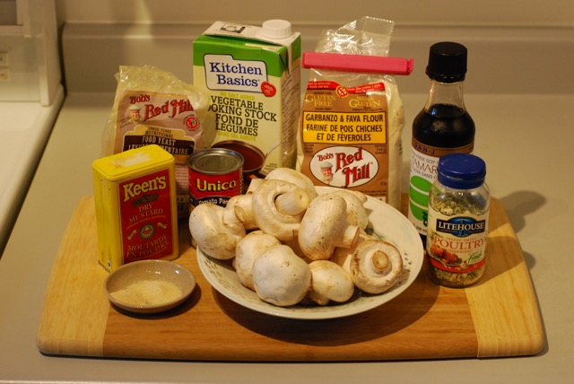Ingredients for Awesome Mushroom Sauce