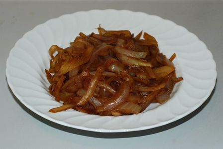 Caramelized Onions on a serving dish