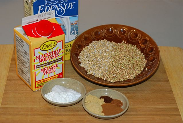 Ingredients for Gingerbread Muffins