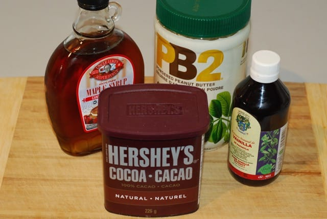 Ingredients Chocolate PB2 Icing