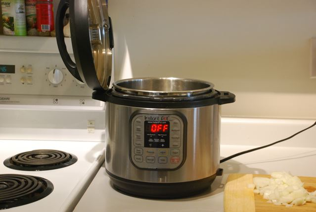 Instant Pot ready for work
