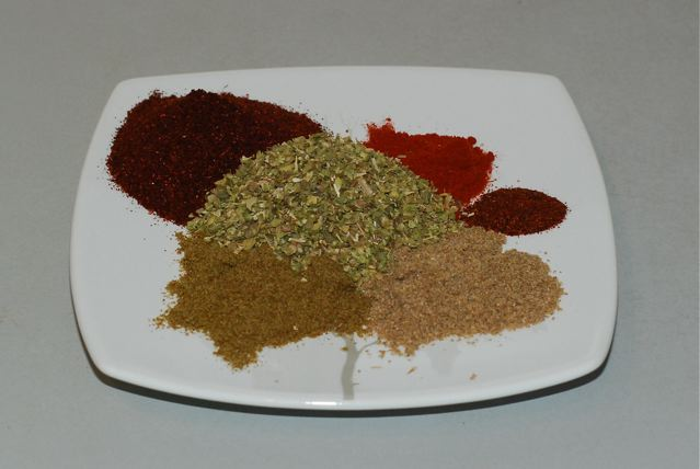 Spice blend for Black Bean and Potato Chili