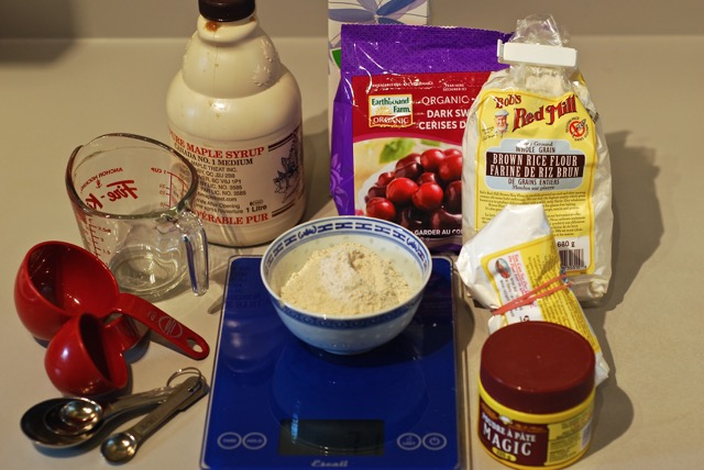 Ingredients for Cherry Cobbler